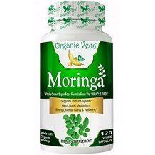Organic Veda Moringa for Health & Well-Being