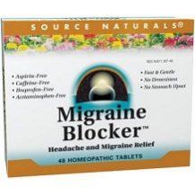 Source Natural Migraine Blocker for Migraine Relief