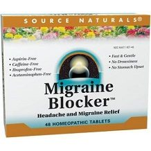 Source Natural Migraine Blocker for Migraine Relief