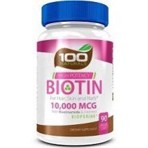 100 Naturals Biotin for Hair Growth