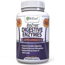 Bioganix Biozyme Digestive Enzyme for IBS Relief