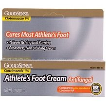 Goodsense Athlete's Foot Cream for Athlete's Foot