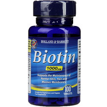 Holland & Barrett Biotin for Hair Growth