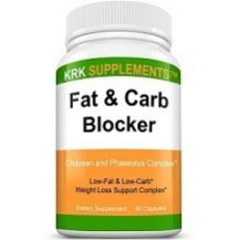 KRK Supplements Fat & Carb Blocker for Weight Loss