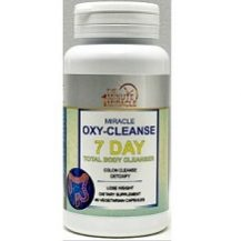Miracle OXY-Cleanse 7 Day Total Body Cleanser and Detox for Weight Loss