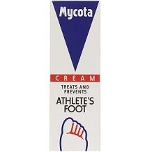 Mycota Powder & Cream for Athlete's Foot
