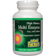 Natural Factors Multi Enzyme for IBS Relief