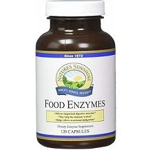 Nature's Sunshine Food Enzymes for IBS Relief