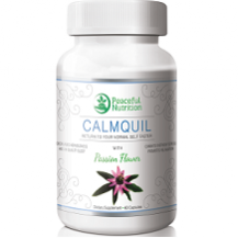 Peaceful Nutrition CALMQUIL Review for Anxiety Relief