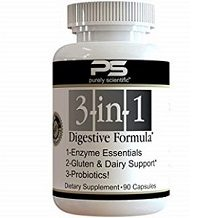 Purely Scientific 3 in 1 Digestive Formula for IBS Relief Review
