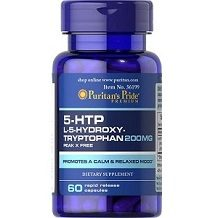 Puritan's Pride 5-HTP Griffonia Simplicifolia for Anxiety Relief Review