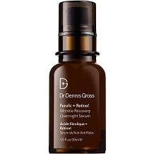 Dr Dennis Gross Ferulic Plus Retinol Wrinkle Recovery Overnight Serum for Anti-Aging