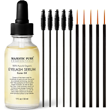 Majestic Pure Eyelash Growth Serum for Eye Lash & Eye Brow